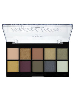 Палетка теней. PERFECT FILTER SHADOW PALETTE - OLIVE YOU 03 NYX PROFESSIONAL MAKEUP
