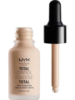 Стойкая тональная основа TOTAL CONTROL DROP FOUNDATION - PORCELAIN 03 NYX PROFESSIONAL MAKEUP