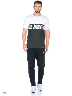 Футболка M NSW TEE AV15 BLK REPEAT Nike