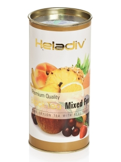 Чай HELADIV HD Round P.T. Mixed fruit 100 gr черный Heladiv