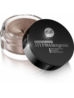 Hypoallergenic кремовые тени для век Waterproof Mousse Eyeshadow Тон 01 BELL HYPO