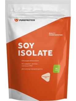 Протеин Pure Protein Soy Isolate (натуральный) 900 г Pure Protein