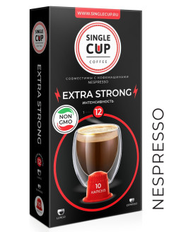 Кофе Exstra Stong, 90 г. Single Cup Coffee