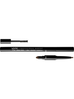 Карандаш для бровей 3 в 1 3 IN 1 BROW PENCIL - ASH BROWN 3108 NYX PROFESSIONAL MAKEUP