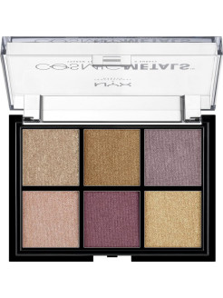 Палетка теней для глаз COSMIC METAL SHADOW PALETTE 01 NYX PROFESSIONAL MAKEUP