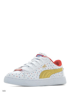 Кеды JL Wonder Woman Basket Jr PUMA