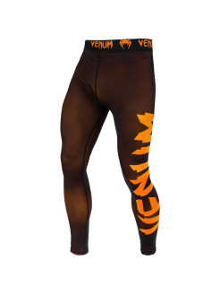 Тайтсы Venum Giant Black/Orange Venum