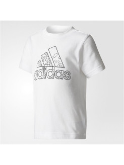 Футболка LK DRAWABLE TEE     WHITE/BLACK Adidas