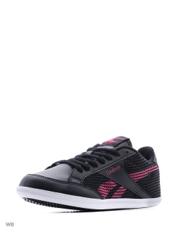Кроссовки жен. REEBOK ROYAL TRANSP BLACK/PINK/CAR TEAL/ Reebok