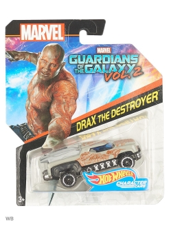 Машинки героев Marvel Hot Wheels