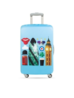 Чехол для чемодана LOQI LUGGAGE COVER M - HEY London LOQI