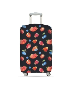 Чехол для чемодана LOQI LUGGAGE COVER M - JUICY Strawberries LOQI
