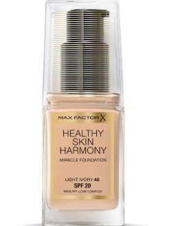 Healthy Skin Harmony тональная основа, Miracle Foundation, 40 Light Ivory, XX мл MAX FACTOR