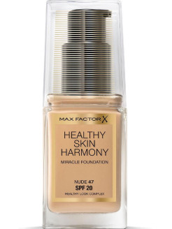 Healthy Skin Harmony, тональная основа, Miracle Foundation, 47 Nude, 30 мл MAX FACTOR