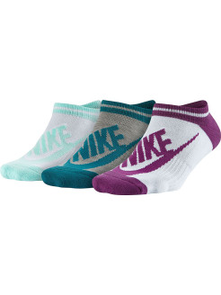 Носки NSW WOMENS -3PPK STRIPED NO SH Nike