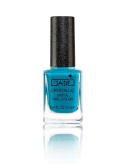 "Лак для ногтей CRYSTALLIC MATTE No.58 ""TEAL SUGAR"" GA-DE"