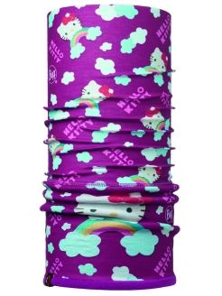 Бандана HELLO KITTY CHILD POLAR RAINBOW PURPLE / MARDI GRAPE Buff