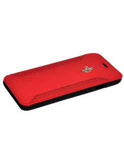 Чехол Ferrari для iPhone 6/6S F12 Booktype Red FERRARI