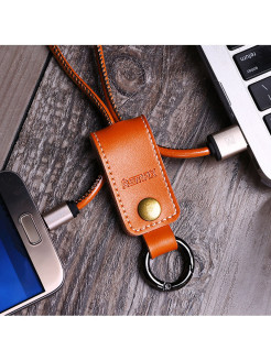 Usb - micro USB кабель Remax Western RC-034m Brown REMAX