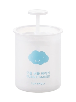 Стакан-помпа для взбивания пены BUBBLE MAKER, 1шт Tony Moly