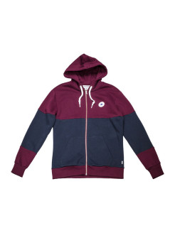 Толстовка Core Colorblock Full Zip Hoodie Converse