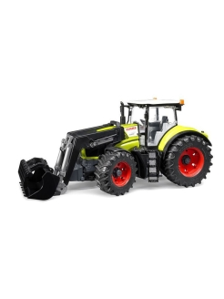 Трактор Claas Axion 950 c погрузчиком Bruder