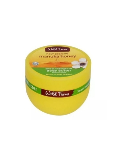 Питательный крем для тела Manuka Honey Body Butter с медом манука и маслом сладкого миндаля, 100 мл WildFerns