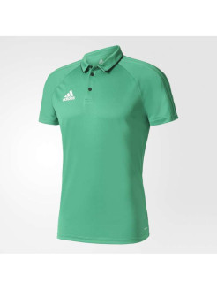 Футболка-поло TIRO17 POLO GREEN/BLACK/WHITE Adidas