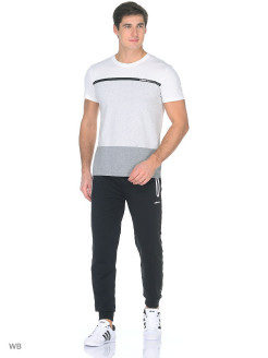 Брюки M CS TRACKPANTS BLACK/WHITE Adidas