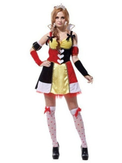 Costume charming Queen of Hearts VKOSTUME