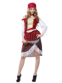 Flirtatious Pirate Costume VKOSTUME