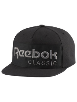 Бейсболка  CL FOUNDATION CAP BLACK/BLACK Reebok