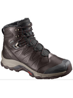 Ботинки SHOES QUEST WINTER GTX Black Coff/BK/Re SALOMON