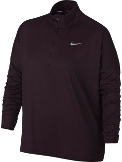 Лонгслив W NK DRY ELMNT TOP HZ EXT Nike