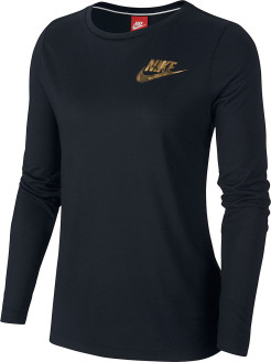Лонгслив W NSW ESSNTL TOP LS METALLC Nike