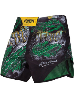 Шорты ММА Crocodile Black/Green Venum