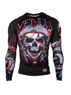 Рашгард Pirate 3.0 Black/Red L/S Venum