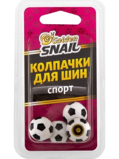 Колпачки для шин (спорт) Golden Snail