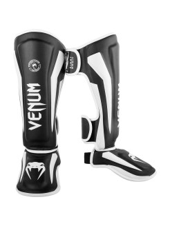 Щитки Venum Elite Black/White Venum