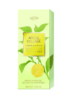 Vitalizing - Lemon & Ginger Гель для душа, 200мл 4711 ACQUA COLONIA