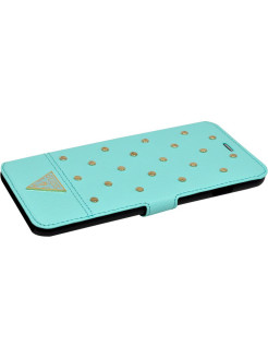 Чехол Guess для iPhone 6 Plus/6S Plus TESSI Booktype Light green GUESS
