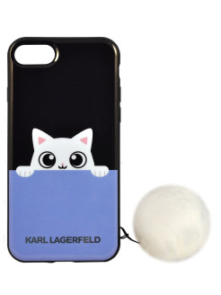 Чехол Lagerfeld для iPhone 7/8 K-Peek A Boo Hard TPU Black Karl Lagerfeld