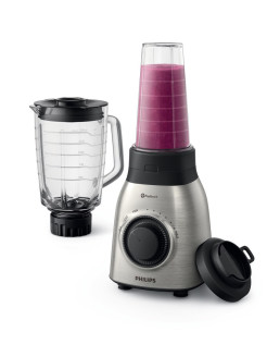 Стационарный блендер Viva Collection HR3556/00 со стаканом On the Go Philips