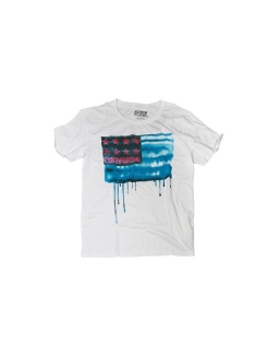 Футболка AMT  BLEEDING FLAG TEE Converse