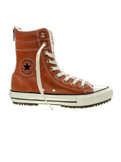 Кеды Chuck Taylor All Star Hi-Rise Boot Leather Fur Converse