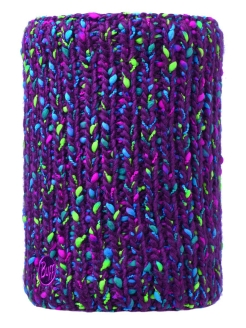 Шапка BUFF KNITTED & POLAR NECKWARMER YSSIK AMARANTH PURPLE Buff