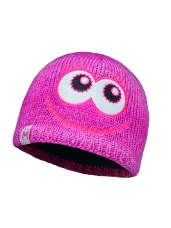 Шапка BUFF CHILD KNITTED & POLAR HAT BUFF MONSTER MERRY PINK Buff