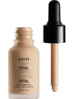 Стойкая тональная основа TOTAL CONTROL DROP FOUNDATION - NATURAL 07 NYX PROFESSIONAL MAKEUP