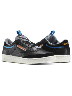Кроссовки CLUB C 85 RAD BLACK/FLINT GRY/BLUE Reebok