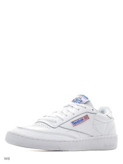 Кроссовки CLUB C 85 SO WHITE/LGH SOLID GREY Reebok